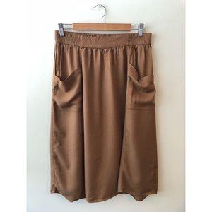 70s style midi skirt w/ pockets!